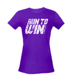 Women's Run to Win - Heather Purple