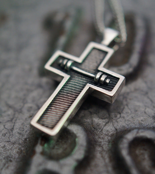 Athlete Cross Pendant