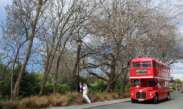Christchurch Wedding Bus Hire