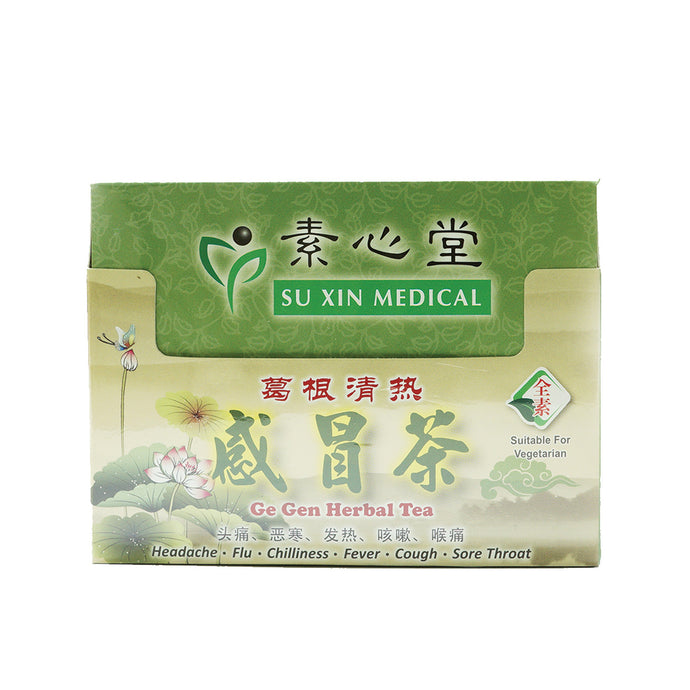 SuXin Ge Gen Herbal Tea 感冒茶 ( Pack of 12) $24.00