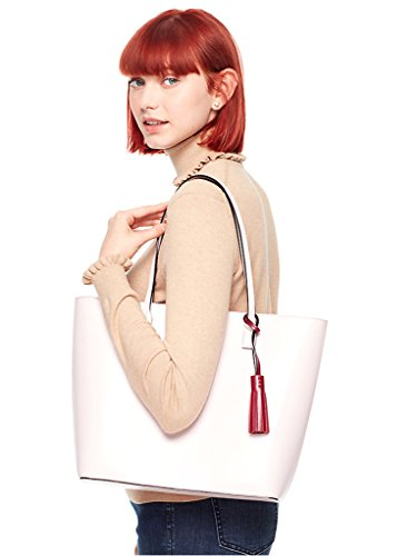 Kate Spade Wright Place Karla Leather Shoulder Tote - Folio Trends