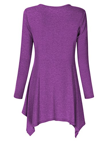 Breezy Irregular Hem Tunic - Folio Trends