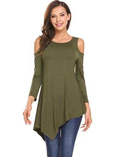 Cold Shoulder Asymmetrical Tunic + Delivery within a Week! - Folio Trends