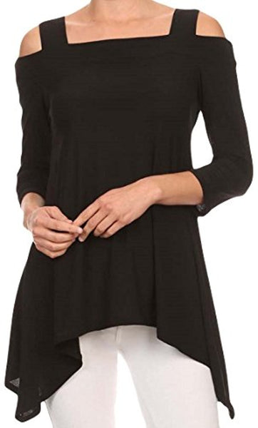 Cold Shoulder Tunic - Folio Trends