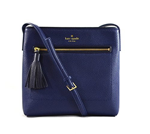 Kate Spade New York Chester Street Dessi Pebbled Leather Shoulder Crossbody Bag, Oceanic Blue, Offshore + FREE TWO DAY PRIME SHIPPNG - Folio Trends
