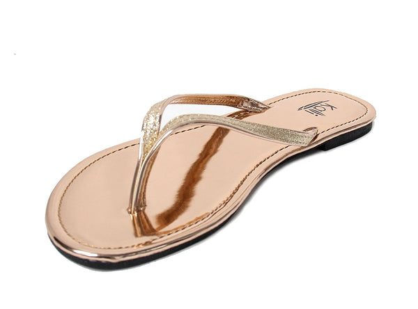 Women's Focus Glitter Flip Flops + FREE 2 DAY SHIPPING! - Folio Trends