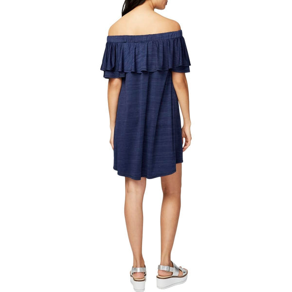 Rachel Women's Off The Shoulder Mini Sundress + FREE 10 DAY SHIPPING - Folio Trends