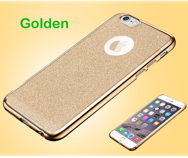 Luxe Glitter Cell Phone Case for iPhone  5, 5s ,6, 6 plus ,6s ,6s plus, 7,  7 plus, SE 7 - Folio Trends