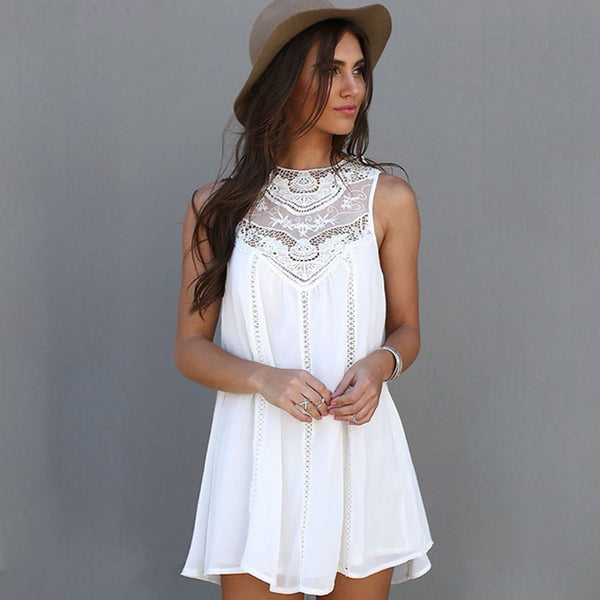 White Beach Sundress/Tunic - Folio Trends