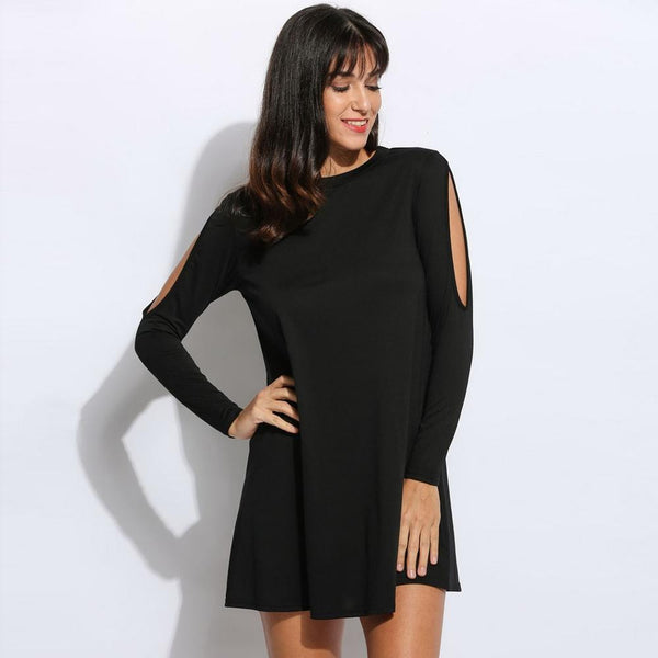 'Women's Cold Shoulder Tunic - Folio Trends