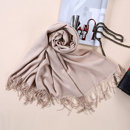 Luxury Cashmere Pashmina Wrap - Folio Trends