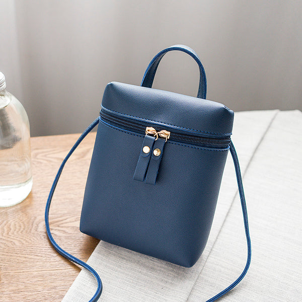 Bucket Cross Body Bag in 5 Colors - Folio Trends