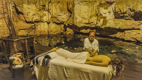 Azulik Cenote Massage