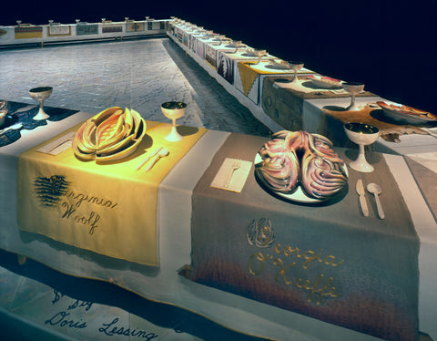 """Judy Chicago """"Dinner Party"""" 1974-79, Wing Three"""