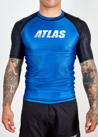 Atlas Splitter Rashguard - Blue