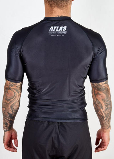 Atlas Splitter Rashguard - Black