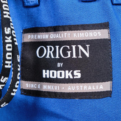 Hooks Origin BJJ Gi - Blue with White Belt