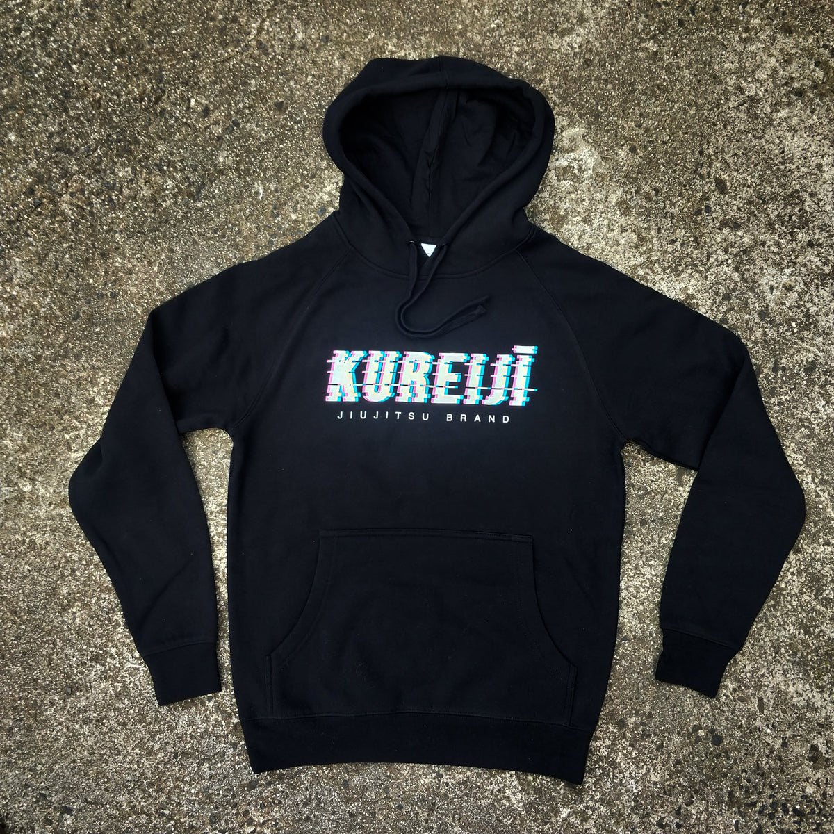 KUREIJI - BLURR- HOODED SWEATSHIRT