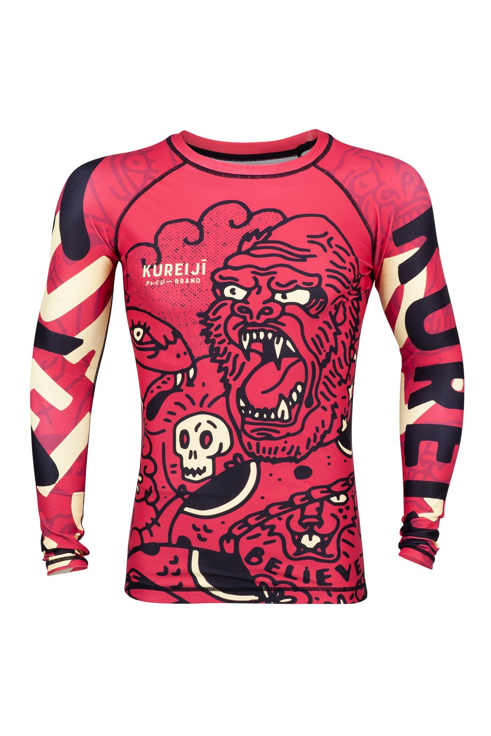 Kureiji Battle Rashguard Long Sleeve
