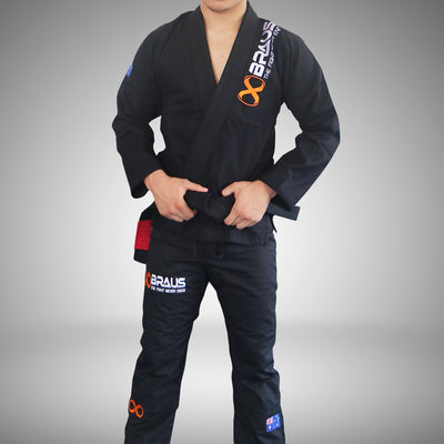 Braus Prolight Jiu Jitsu Gi - Black