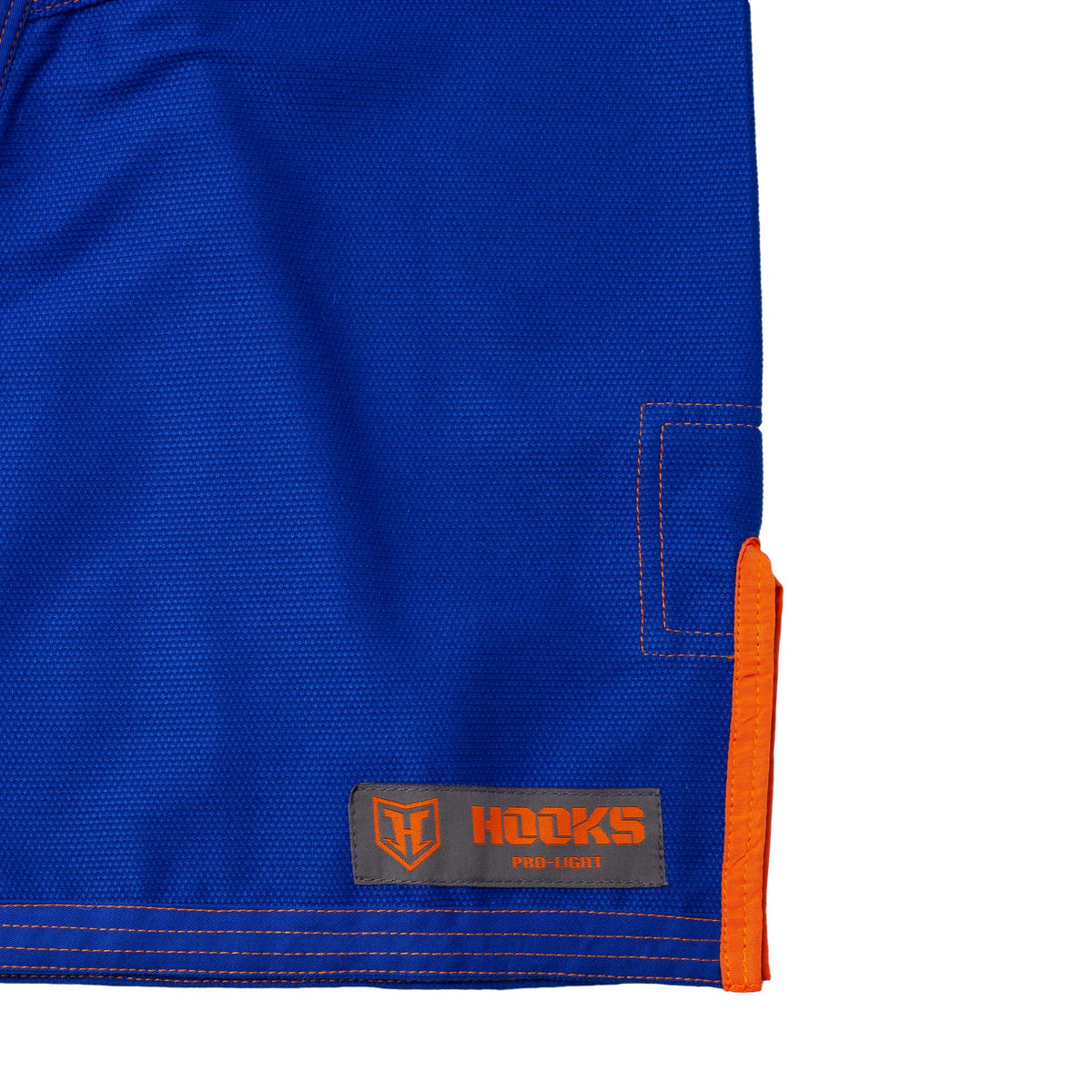 Hooks Pro Light Jiu Jitsu Gi -  Limited Edition Blue w Grey/Orange