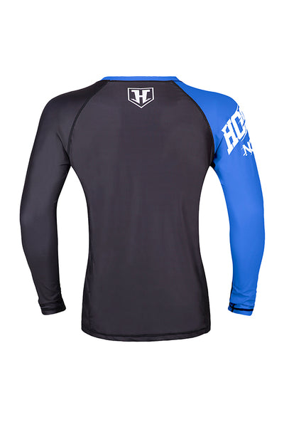 Hooks- Female Rashguard - Blue