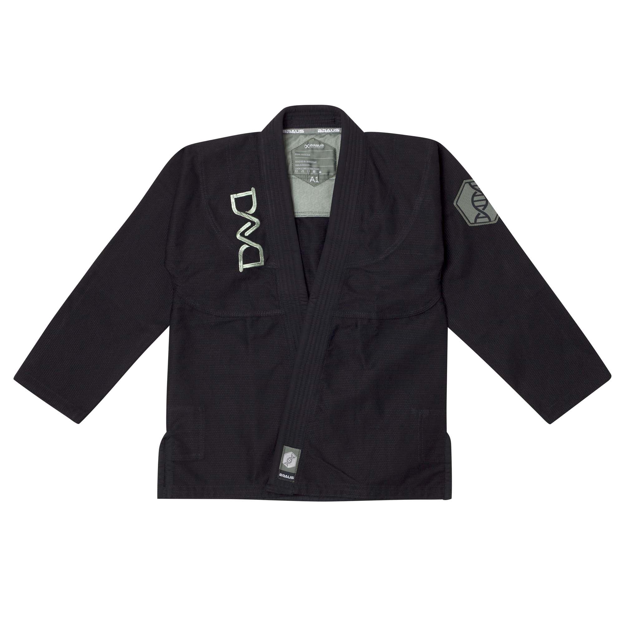 Braus DNA Jiu Jitsu Gi - Black