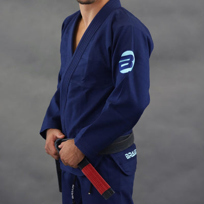 Braus Aqua Element Jiu Jitsu Gi - Navy
