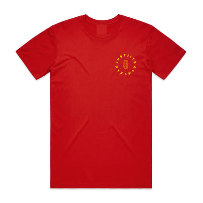 Just Jits Lucky Cat Tee - Red