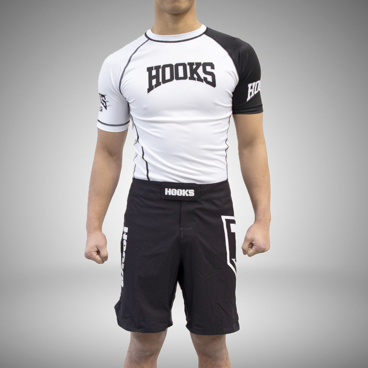 Hooks Pro Light Rashguard - White