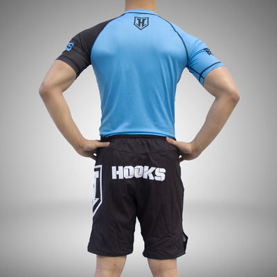 Hooks Pro Light Rashguard - Blue