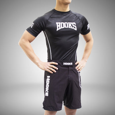 Hooks Pro Light Rashguard - Black