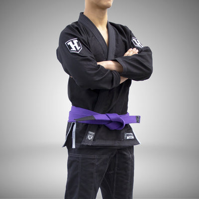 Hooks Pro Light Jiu Jitsu Gi -  Black