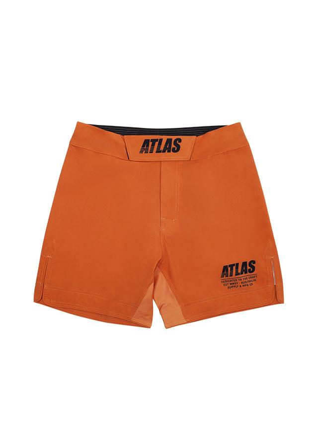 Atlas Splitter Grappling Shorts - Burnt Orange