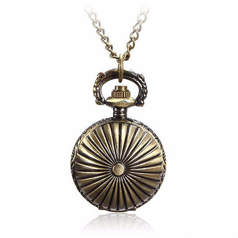 """Inspector Julia"" Classic Pocket Watch Necklace - FREE Shipping"