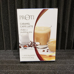 Caramel Cafe Latte Shake or Pudding Mix