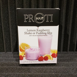 Lemon Raspberry Shake or Pudding Mix