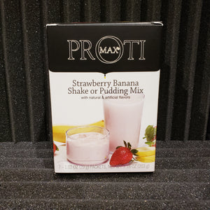 Strawberry Banana Shake or Pudding Mix