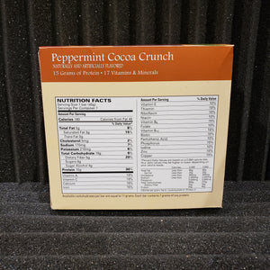 Peppermint Cocoa Crunch Bar