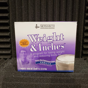 Weight & Inches Vanilla Meal Replacement Shake