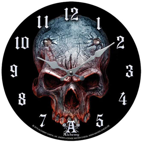 Alchemy of England Birth of a Demon Clock Evil Skull Home Decor