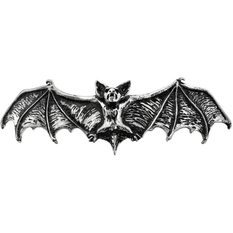 Alchemy of England Darkling Bat Hair Slide Goth