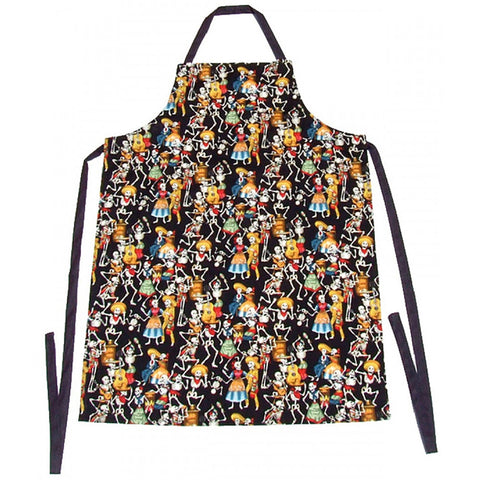 Hemet Men's Day of the Dead Apron Mexican Latino Festive