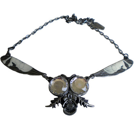 Kreepsville 666 Return Of The Fly Necklace Clear Horror Halloween