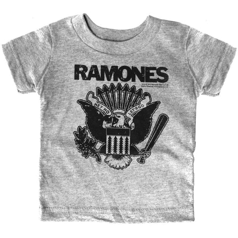 Kid's Sourpuss Ramones Gray T-Shirt Punk Rock