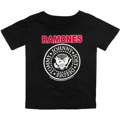 Kid's Sourpuss Ramones Logo T-Shirt Punk Rock