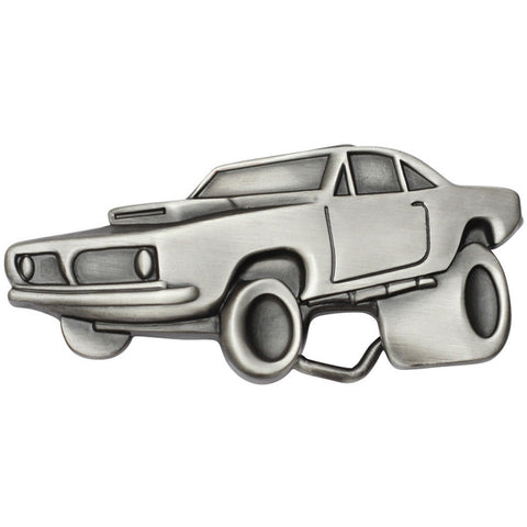 Kitsch N Kouture Muscle Madness Belt Buckle Classic Car Hot Rod