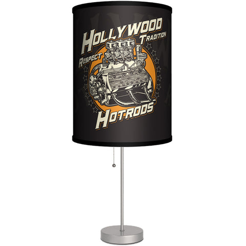 Lamp-In-A-Box Hollywood Hot Rods Engine Table Lamp Kustom Kulture Gearhead