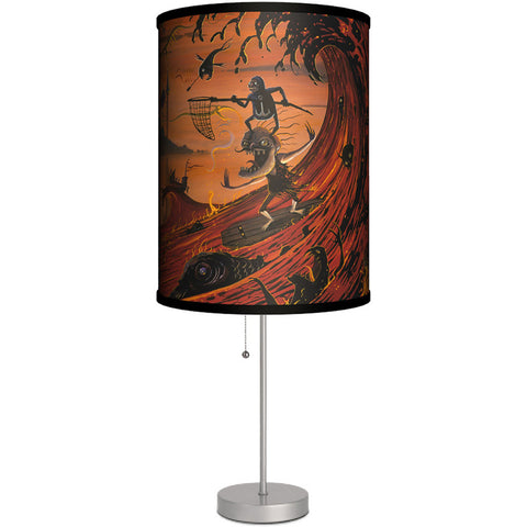 Lamp-In-A-Box Killer Surf Table Lamp