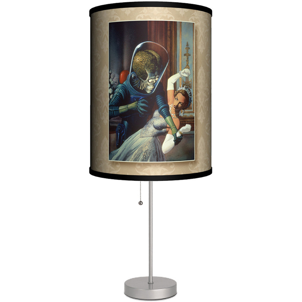 Lamp In A Box Mars Attacks God Save The Queen Table Lamp